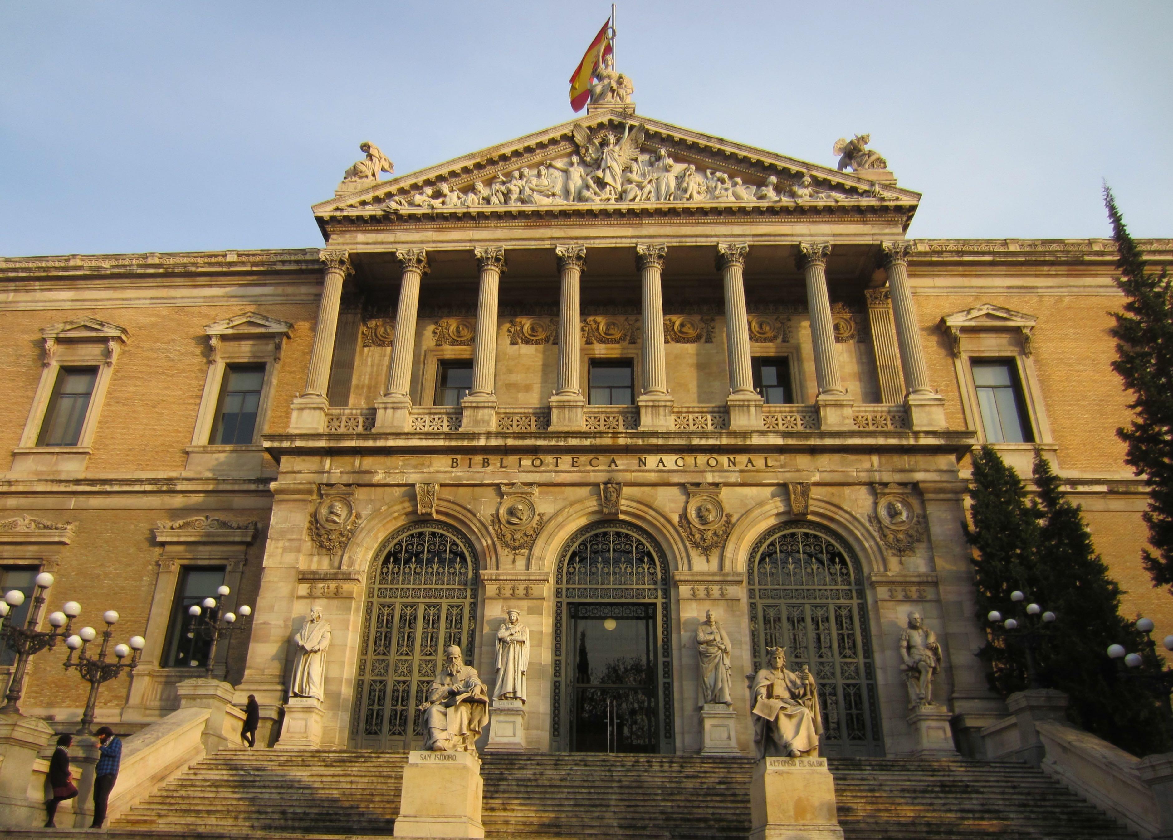 living abroad in Spain –biblioteca nacional en Madrid