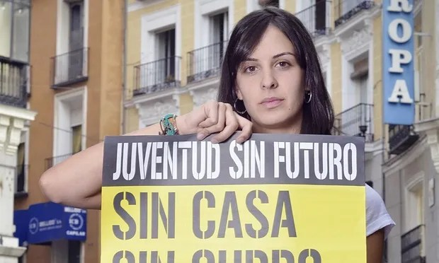 Rita Maestre topless protest Madrid