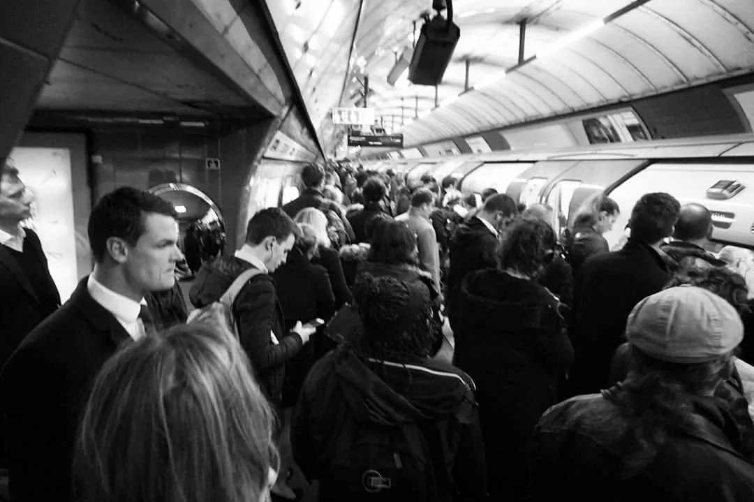 london underground digital nomad