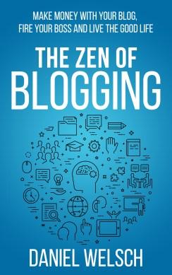 pro blogger journey – zen of blogging book cover