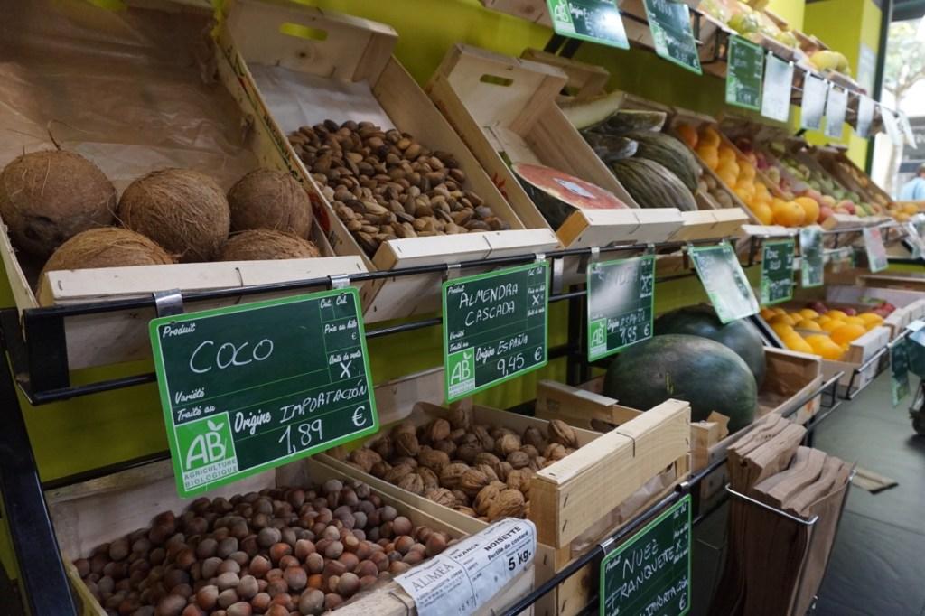 bio c' bon organic supermarket in madrid
