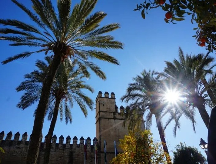 tourism in spain - alcázar de córdoba