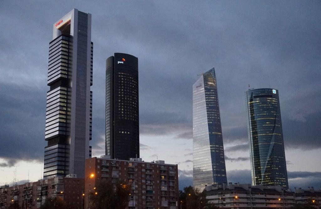 cuatro torres madrid four towers