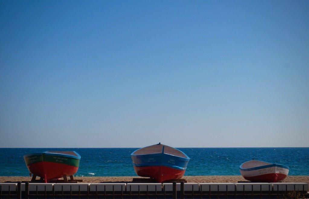 badalona beach spain