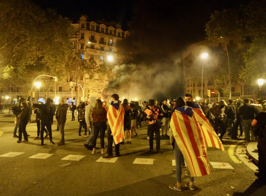 barcelona protests october 2019