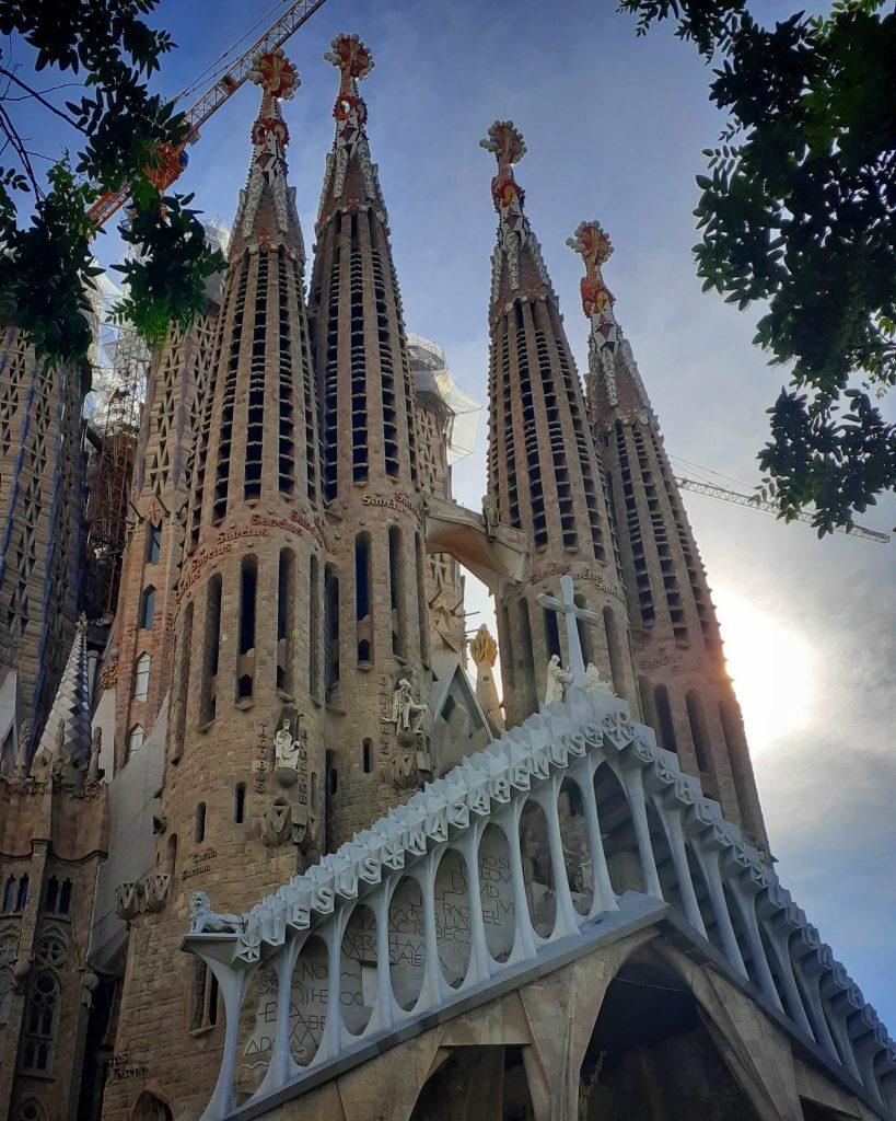 sagrada familia sin turistas