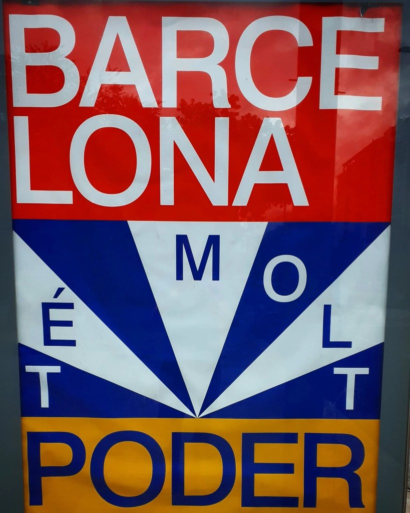 barcelona te molt poder sign