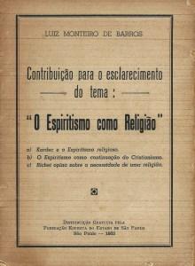 Capa O espiritismo como religião