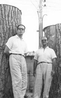 Chico Xavier e Waldo Vieira