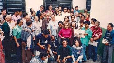 Simpósio de Comunicação Social Espírita em São Paulo, SP, em 1996.
