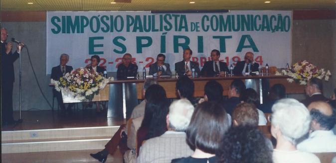 I Simpósio Paulista de Comunicação Social Espírita, São Paulo, 1994.