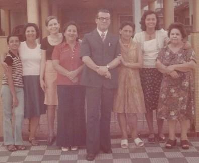 Hélio Rossi e família.