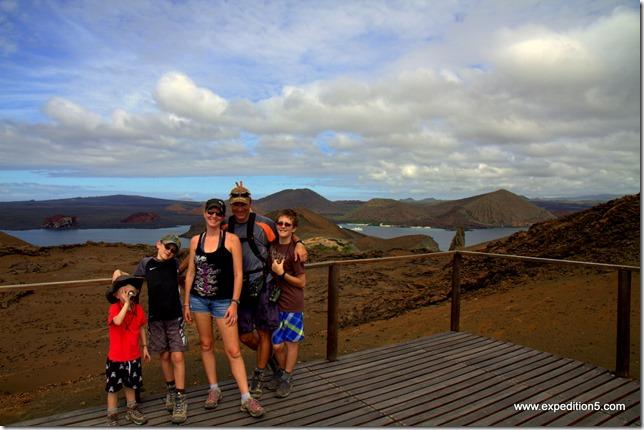 La fine équipe,  Galapagos, Equateur.