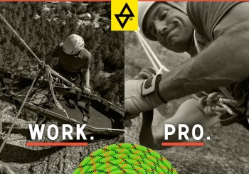 New Product – Sterling WorkPro Static Rope – an entirely new approach to rope construction