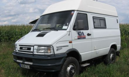 SOLD – Iveco Daily 4×4 40-10 TOP CONDITION – Germany