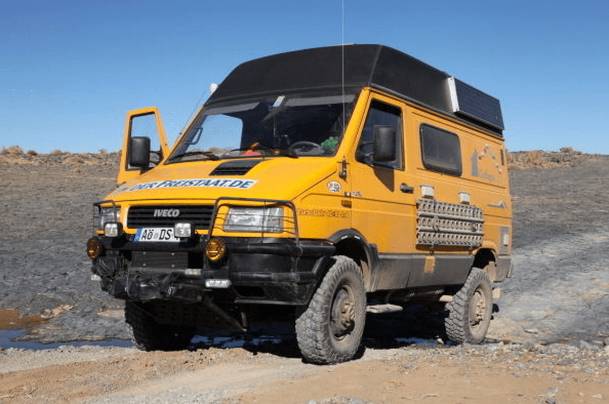 SOLD - Iveco Daily 40-10 4x4 Camper - Germany