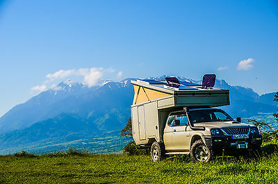 SOLD – Mitsubishi L200 with camper cabin – Germany
