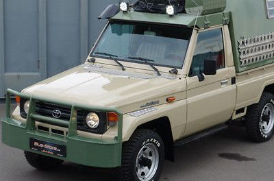 SOLD – Toyota Land Cruiser 75 4×4 HZJ WOMO – Germany