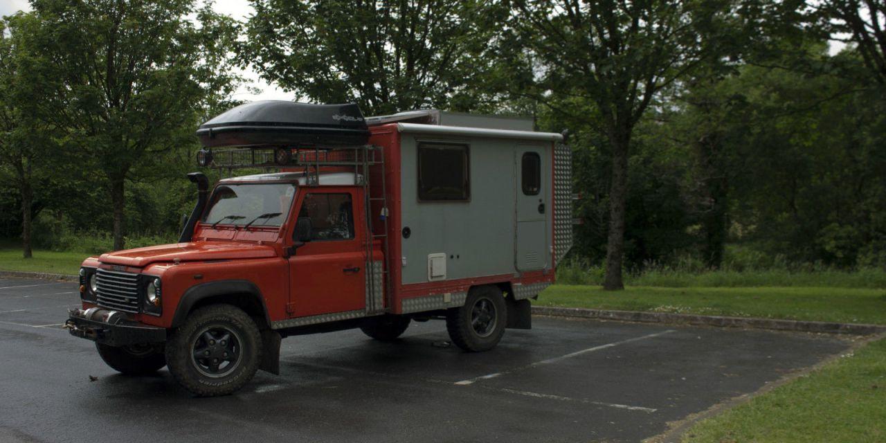 SOLD – Land rover defender 130 camper 4×4 motorhome – UK