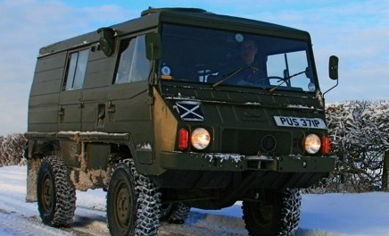 SOLD – Pinzgauer 4×4 camper – UK