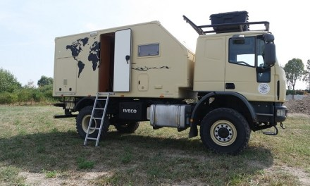 Iveco Eurocargo 4×4 Camper