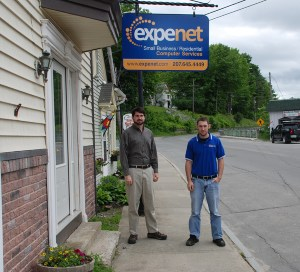 Wilton Shop Front with Jeff and Josh