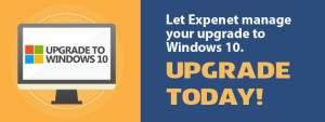 Upgrade to Windows 10 today!