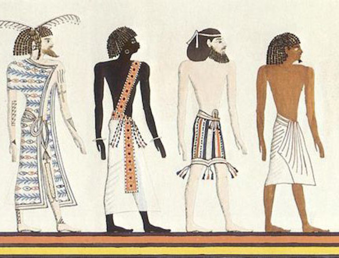 Ancient Egyptian Culture & Society - The Different Races in Egypt