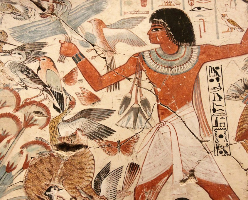 Ancient Egyptian Entertainment - Fowling, Fishing, Hunting