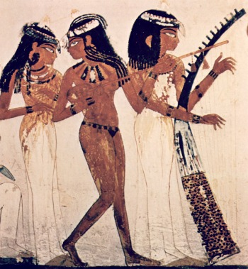 Ancient Egyptian Entertainment - Musicians