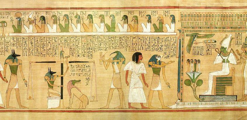 Egyptian Goddess Maat - Weighing of the Heart