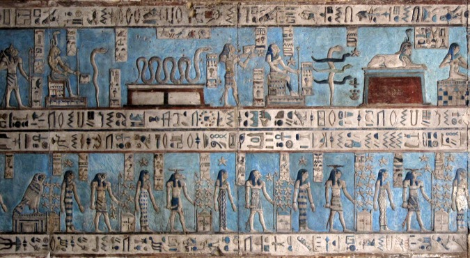Ancient egyptian painting techniques for Ancient egyptian mural