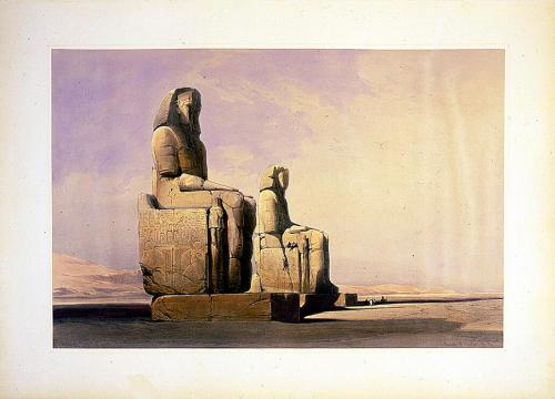 Geography of Ancient Egypt - Thebes by David Roberts