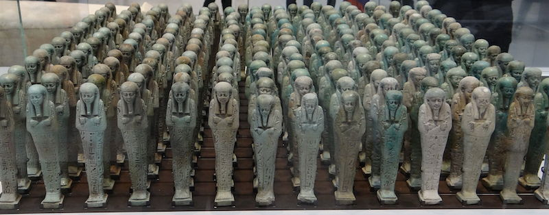 Troop of Ushabti. Photo by: Serge Ottaviani