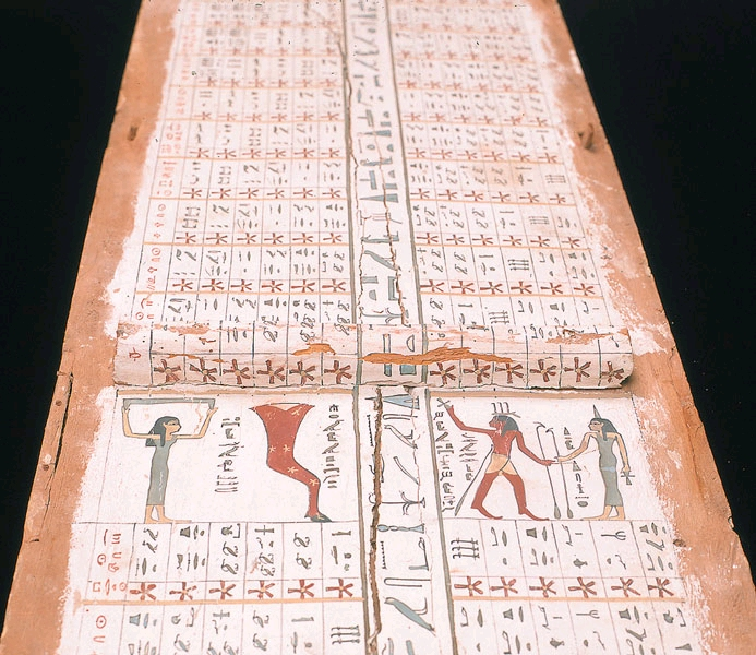 Egyptian Astronomy: Diagonal Star Chart. Photo by: NebMaatRa
