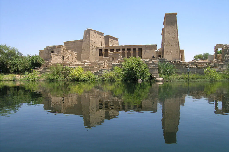 Philae Temple of Egyptian Goddess Isis. Photo by: Ivan Marcialix