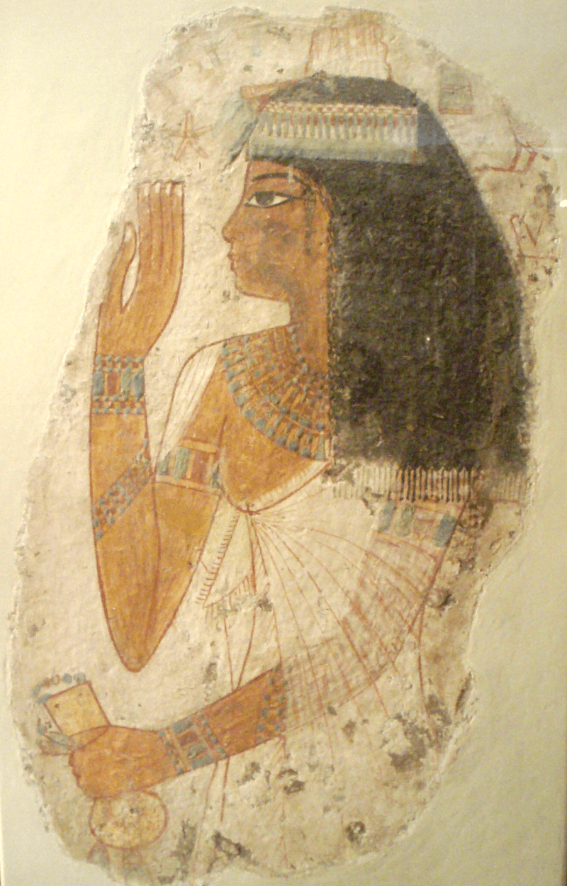 Lady Tjepu Tomb Wall Painting by Keith Schengili-Roberts