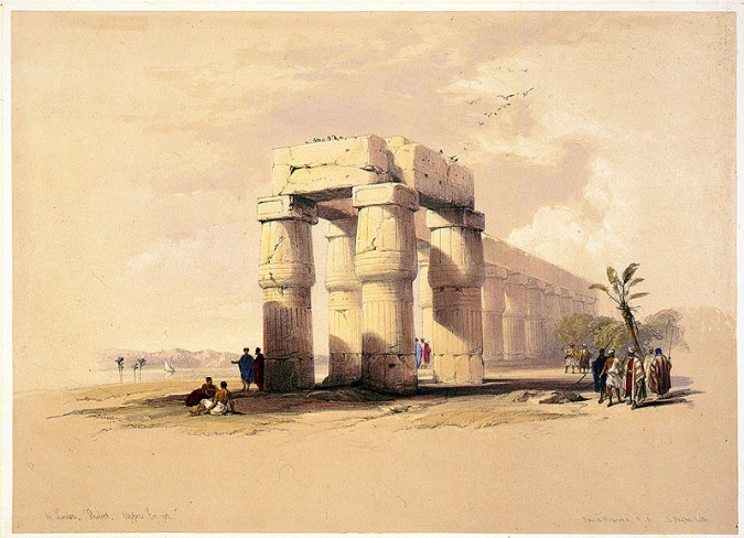 Ancient Thebes by David Roberts