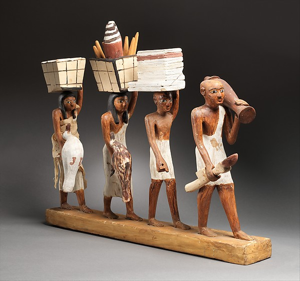 Ancient Egyptian Clothing - Carrying Offerings - from MetMuseum.org, Rogers Fund and Edward S. Harkness Gift, 1920