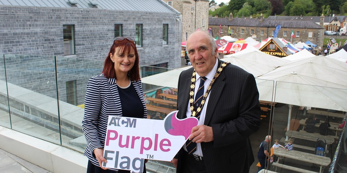 Purple Flag, Enniskillen, Enniskillen BID, Fermanagh, Award,