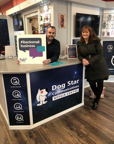 Small Business Saturday, Enniskillen BID, Dog Star Communications, The Federation of Small Businesses (FSB),