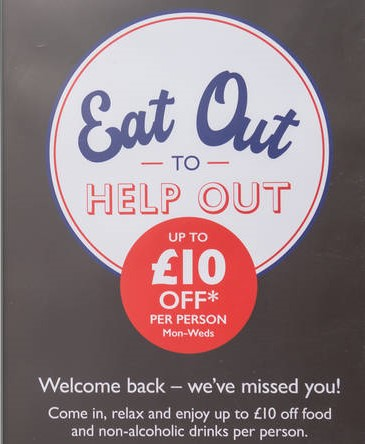 Eat Out to Help Out, local economy, Enniskillen, Enniskillen BID, Fermanagh, Food and drink, hospitality sector