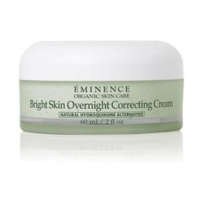 Éminence Bright Skin Overnight Corrective Cream