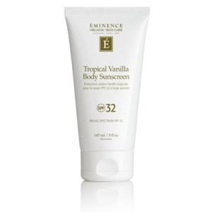Éminence Tropical Vanilla Body Sunscreen SPF32
