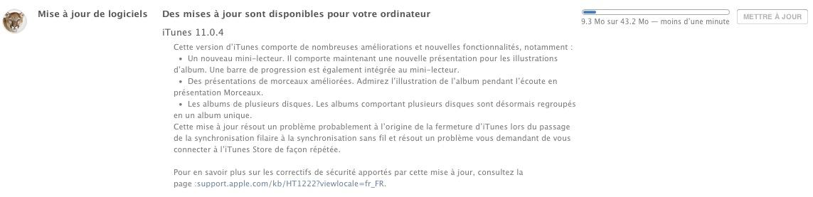 iTunes11.0.4