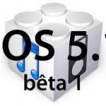 iOs 5.1 Bêta est de sortie