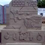 Un château de sable 8-Bits