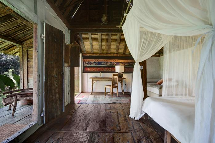 chambre (source : Shanti Lodge)
