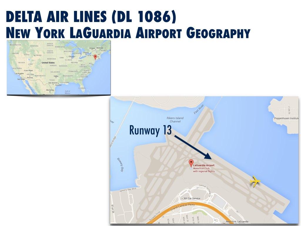 New York LaGuardia Airport  Plane Skidded Off Runway Update - Nyc map laguardia