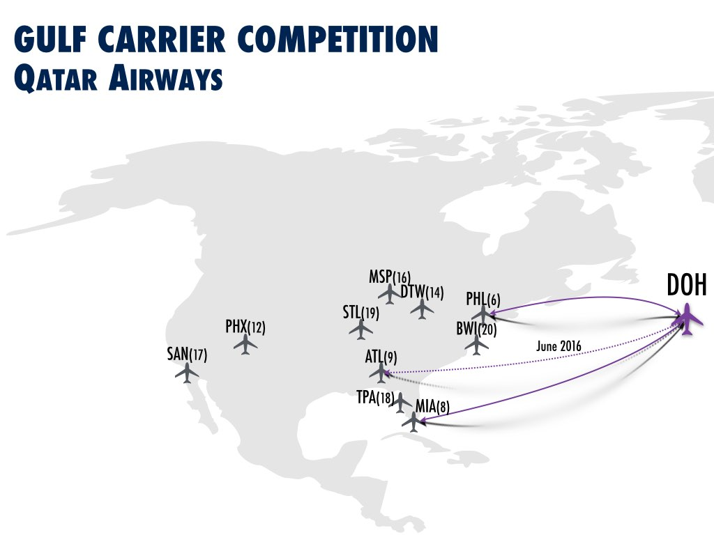 Emirates US Growth Opportunities - Gulf Carriers